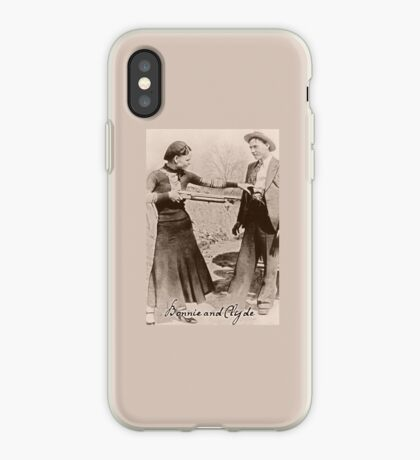 Bonnie and Clyde I iPhone Case