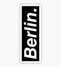 Berlin Oblique Sticker