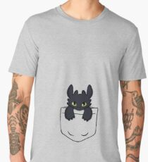Pocket Toothless Men's Premium T-Shirt