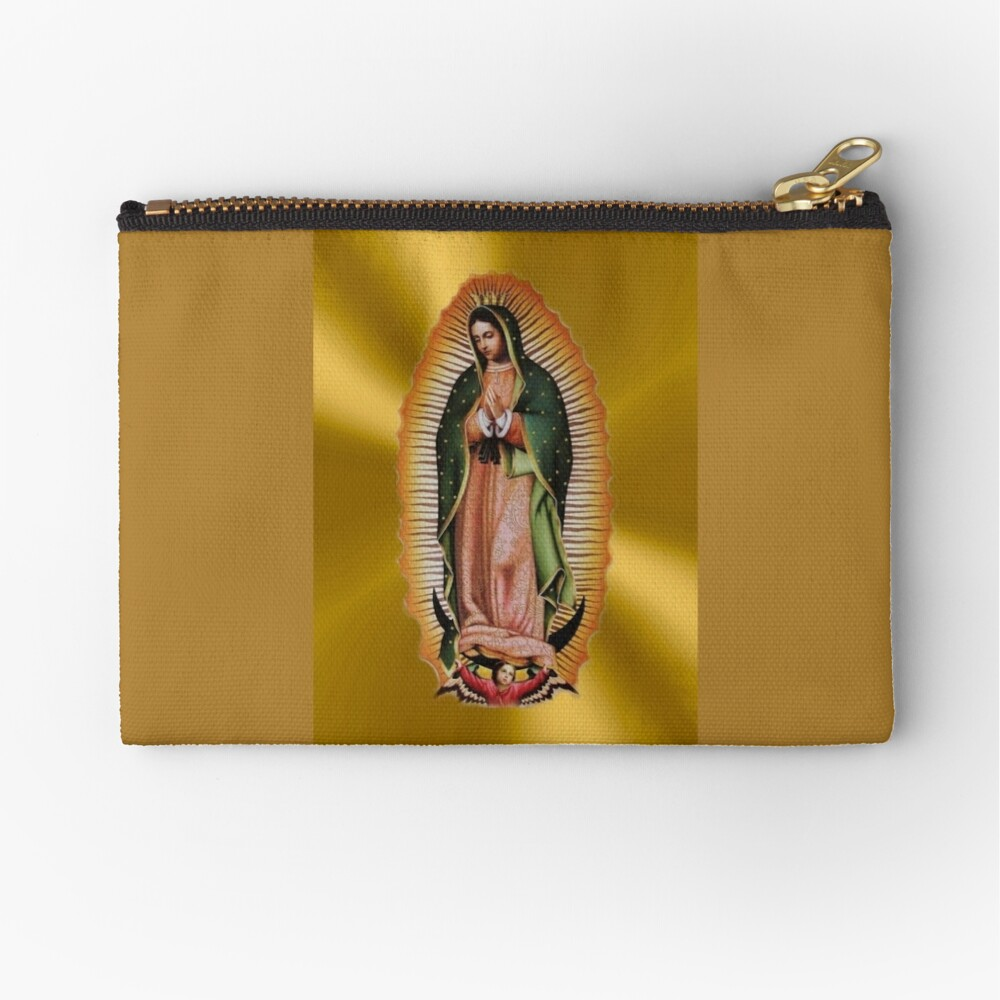 Our Lady of Guadalupe Mexican Favorite Zipper Pouch