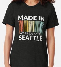 Made in Seattle Tri-blend T-Shirt