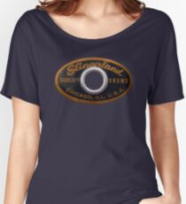 Slingerland Drum Badge Women's Relaxed Fit T-Shirt