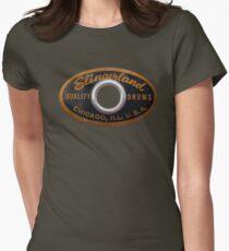 Slingerland Drum Badge Women's Fitted T-Shirt