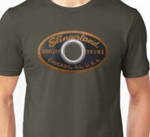 Slingerland Drum Badge Unisex T-Shirt