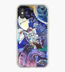 Spaceship Earth Mural iPhone Case
