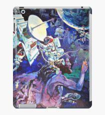 Vinilo o funda para iPad Mural de la Tierra de la nave espacial