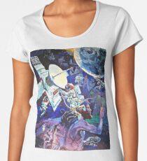 Spaceship Earth Mural Women's Premium T-Shirt