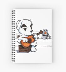 Animal Crossing - K.K. Slider at The Roost Spiral Notebook