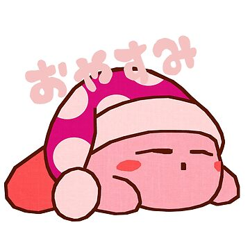Sleepy Kirby by Qynn