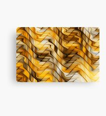 Golden pattern Canvas Print