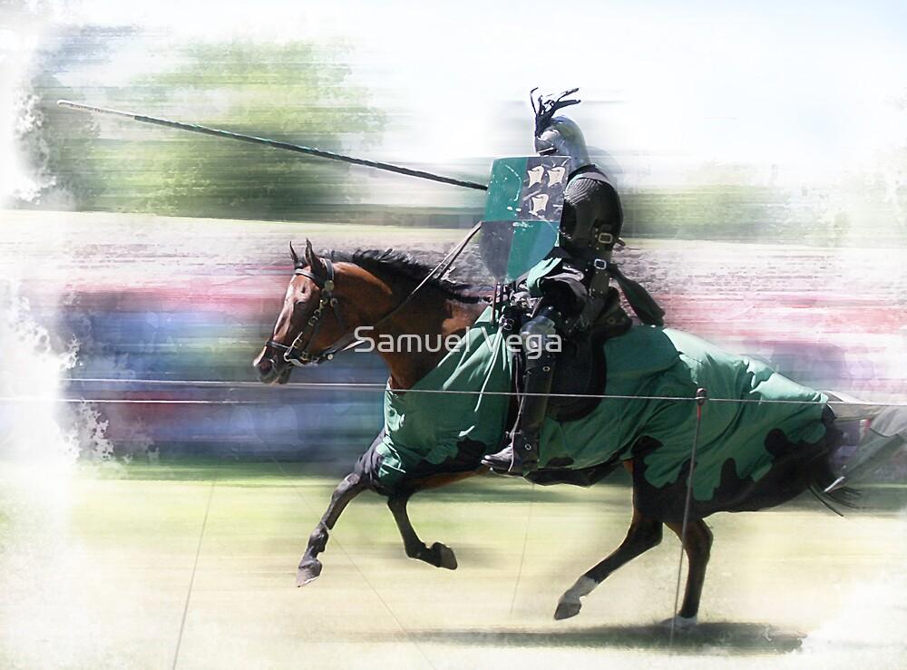Jousting Knight  by Samuel Vega