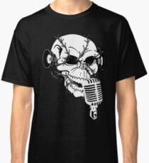 Singing Skull  Classic T-Shirt