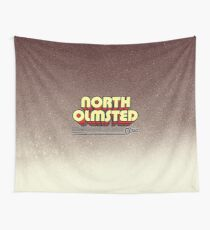 North Olmsted, Ohio | Retro Stripes Wall Tapestry