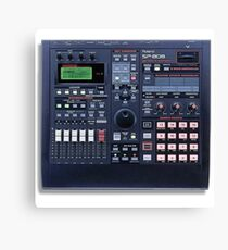 The Roland SP-808 Sampler Canvas Print