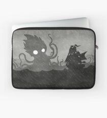 Rainy Ship & Kraken Laptop Sleeve