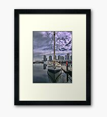 Down the Bow of the 'Alexander Stewart' Framed Print