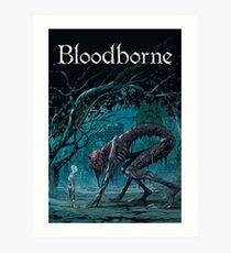 Lámina artística Bloodborne