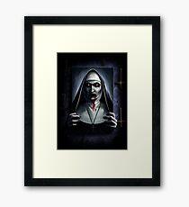 Valak Painting  Framed Print