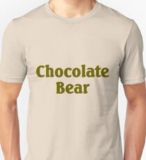 Scrubs Chocolate Bear Unisex T-Shirt