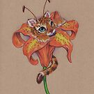 Not your Garden Variety TigerLily by justteejay
