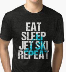 Eat Sleep Jet Ski T-shirt Tri-blend T-Shirt