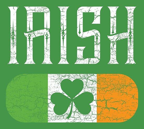 90ba48905750 Irish Flag Shamrock St Patricks Day Vintage