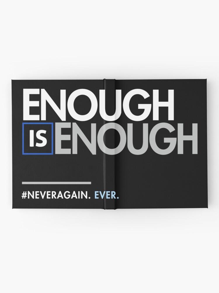 Alternative Ansicht von Genug ist genug, March for Our Lives Notizbuch