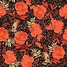 Art nouveau florals by camcreativedk
