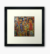 Kickin' It With The Girls #3 Framed Print