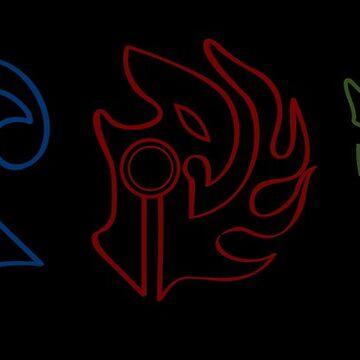 Rayearth Mashin Symbols by Lunamis