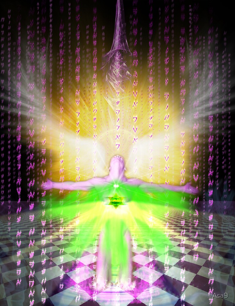 Higher Heart  Activation by Asa9