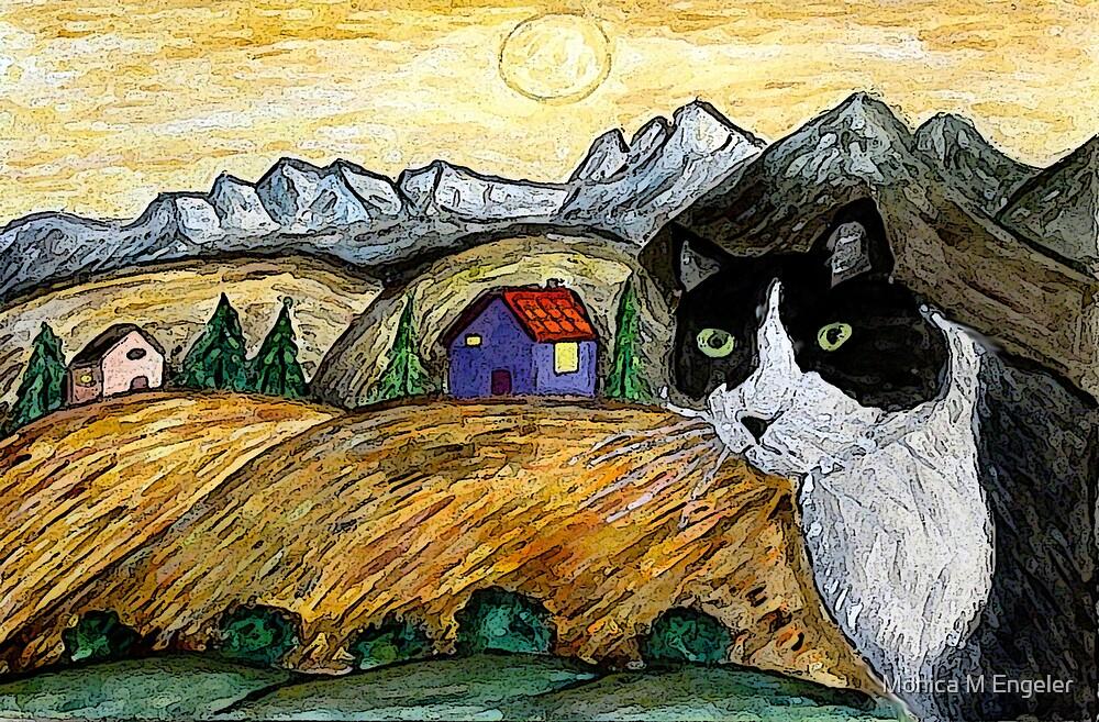Tasha's Sunset by Monica Engeler