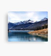 Abraham Lake Canvas Print