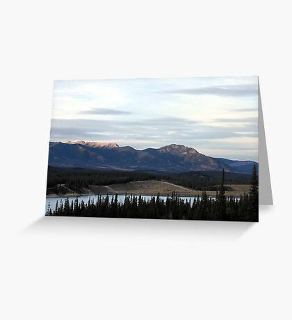 Rocky Mountain Beauty Greeting Card