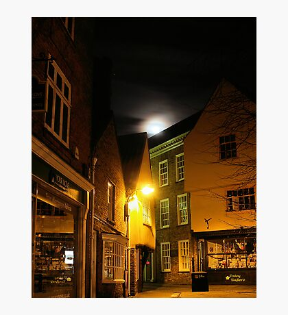 Full moon over York Photographic Print