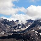 Mount St Helens lava dome 2 by Dawna Morton