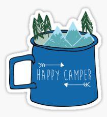 Pegatina Happy Camper