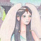 Angel in Unicorn Castle by Stephanie Small