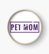 Design Day 58 - Pet Mom - February 27, 2018 Clock