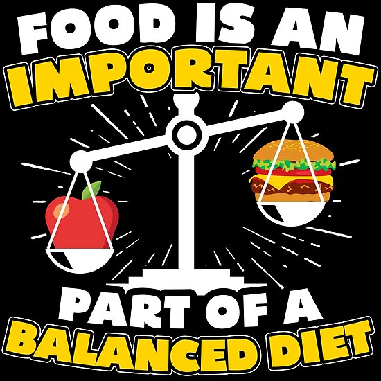 topic on balanced diet