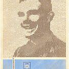Alan Turing  by twistedspeedo