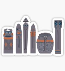 Tikis of Adventureland Sticker