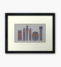 Tikis of Adventureland Framed Print