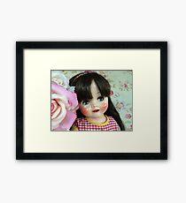 Restored 50s doll Framed Print