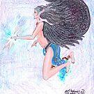Atarn Angel Flying by Stephanie Small