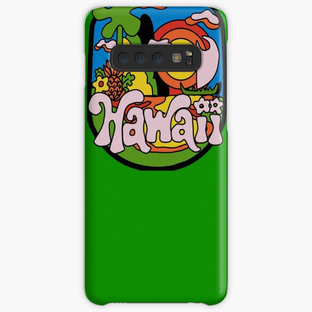 Vintage Hawaii Hülle & Klebefolie für Samsung Galaxy