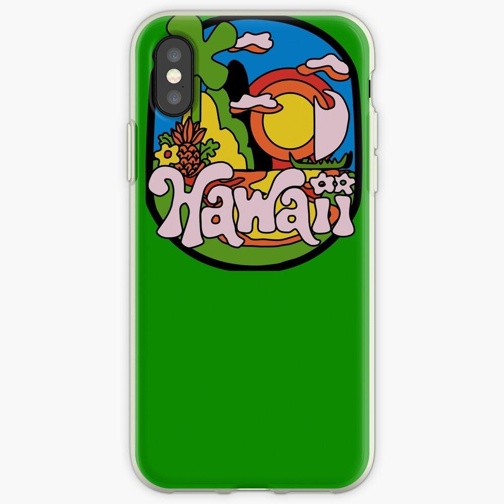Vintage Hawaii iPhone-Hülle & Cover