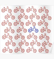 Bicycle Bicycle Bicycle Bicycle... Poster