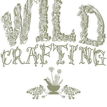 Wildcrafting, Wildcraft, Foraging, Herbalist, Herbalism,  Primitive Skills, Survival Skills, Botany, Botanical by LeahMcNeir