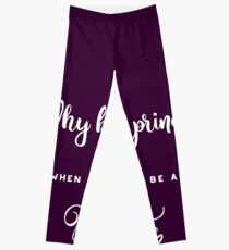Why be a princess when you can be a pirate. Leggings